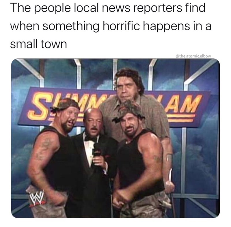 Muscle - The people local news reporters find when something horrific happens in a small town @the.atomic.elbow SEAN AM