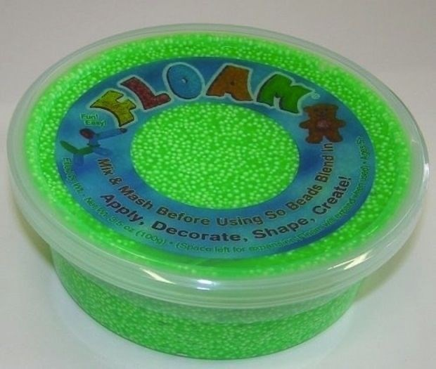 Green - Mes a Sits oz (1009) - (Space left tor eopina s Apply, Decorate, Shape, Create! Mix &Mash Before Using So Beads