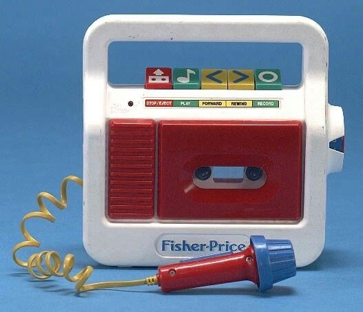 Technology - 8TOP/EJECT REWIND RECORD PLAY FORWARD Fisher-Price