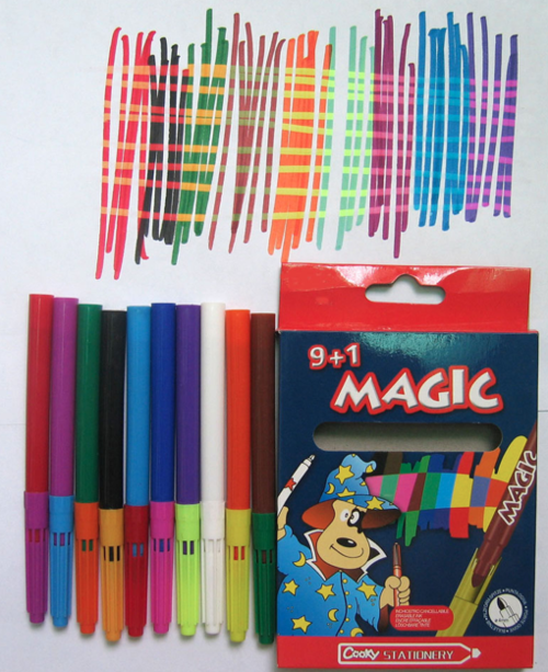 Writing implement - 9+1 MAGIC ACHCENCOROLBLE Cooky STATIONERY
