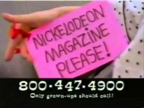 Pink - NICKELODEON MAGAZINE PLEASE! 800-447.4900 Only grown-ups should cal!