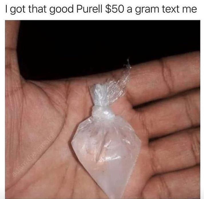 I got that good Purell $50 a gram text me adam the crestor