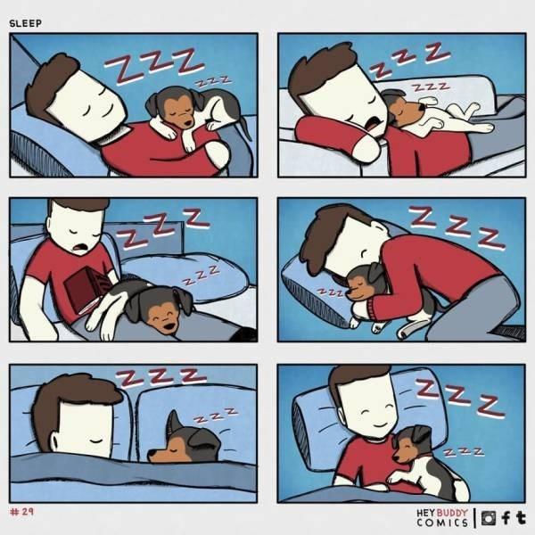 Cartoon - SLEEP ZzZ # 29 HEY BUDDY COMICS Oft