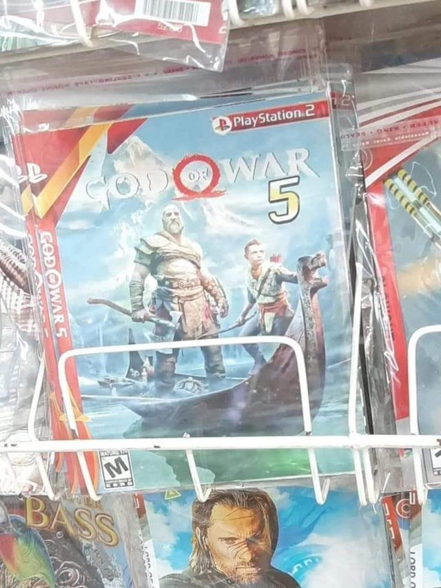 Fictional character - PlayStation.2 TOO_BLRYY OD WAR BASS CERCET LORD O GODOWAR 5