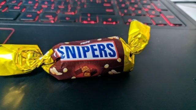 Chocolate bar - SNIPERS PEPE