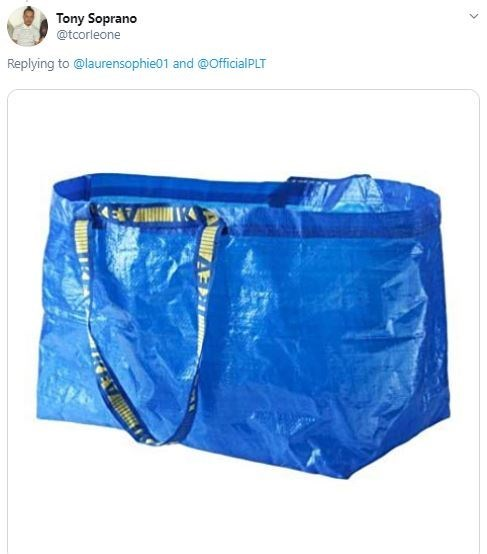 Blue - Tony Soprano @tcorleone Replying to @laurensophie01 and @OfficialPLT