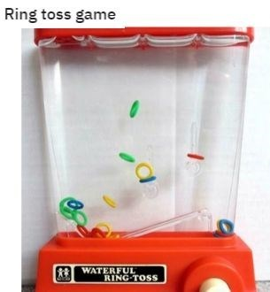 Plastic - Ring toss game WATERFUL RING-TOSS