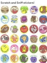 Fashion accessory - Scratch and Sniff stickers!