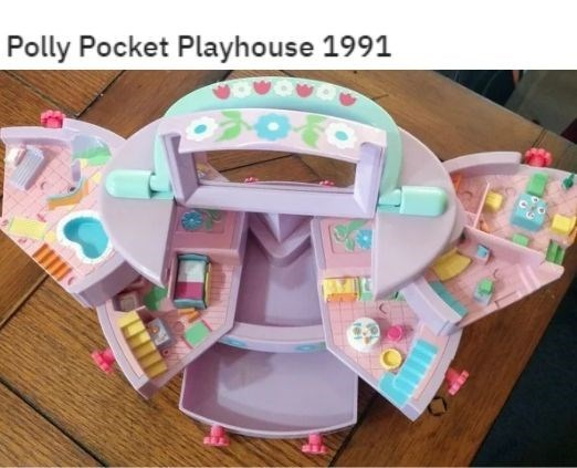 Product - Polly Pocket Playhouse 1991