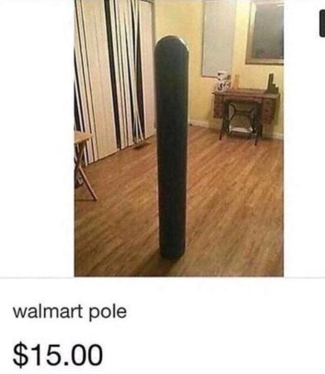Floor - walmart pole $15.00