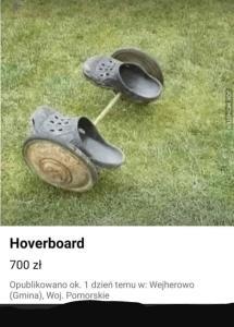 Footwear - Hoverboard 700 zł Opublikowano ok. 1 dzien ternu w: Wejherowo (Gmina), Woj. Pamorskie