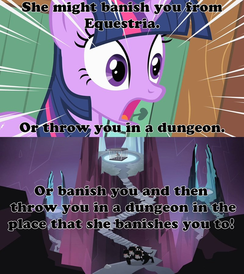 cerberus twilight sparkle screencap tirek a bird in the hoof twilight's kingdom - 9455265280