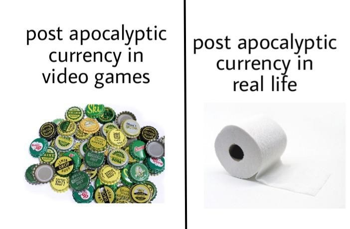 Product - post apocalyptic currency in video games post apocalyptic currency in real life SSALE DRY DROP REEDS DRY