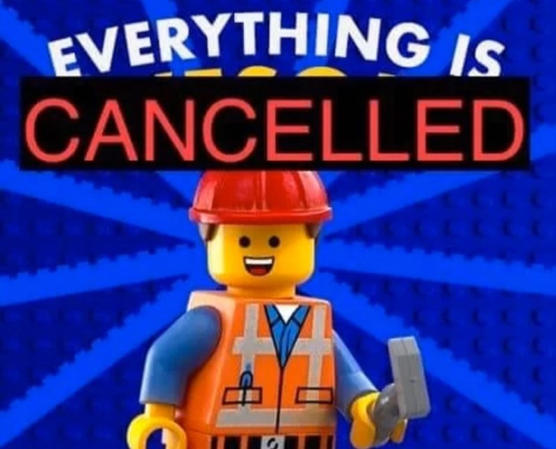 Toy - EVERYTHING IS CANCELLED
