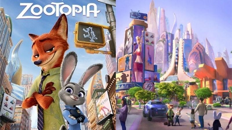 Animated cartoon - ZOOTOPIA