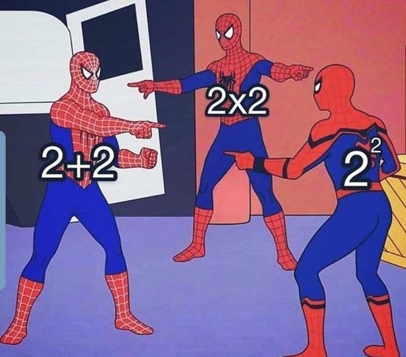 Spider-man - 2x2 2+2 2. 2.