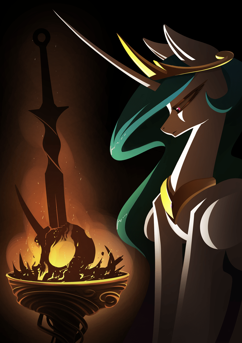 underpable dark souls princess celestia - 9457590784