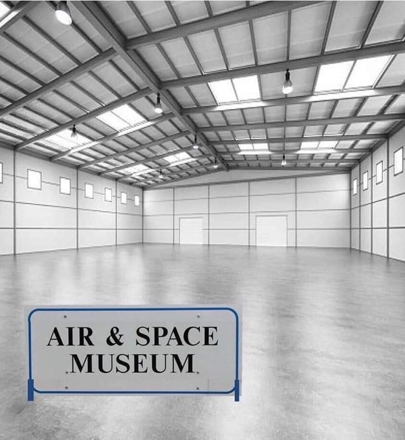 Building - AIR & SPACE MUSEUM,