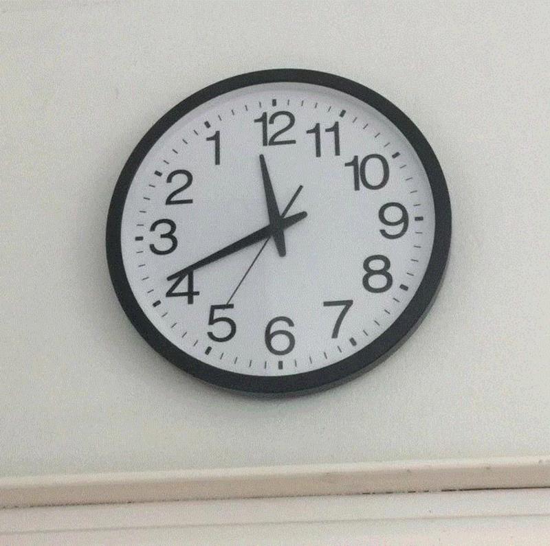 Clock - 1211 10 9- 8. 56 7 :2 :3 .