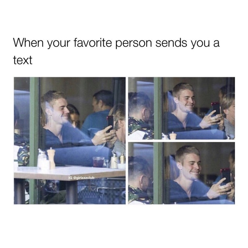 Product - When your favorite person sends you a text IG @girlzzzclub