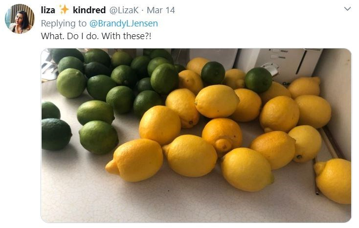 Natural foods - liza + kindred @Lizak Mar 14 Replying to @BrandyLJensen What. Do I do. With these?!