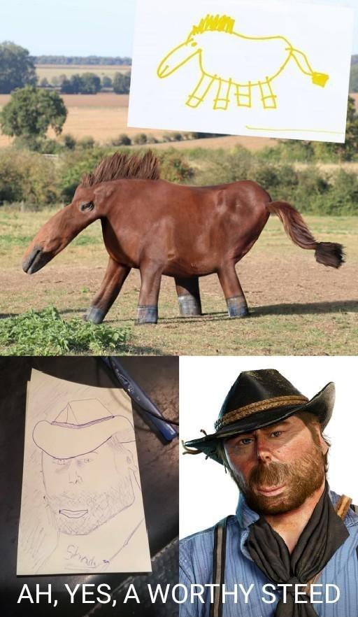 Horse - Shndy AH, YES, A WORTHY STEED