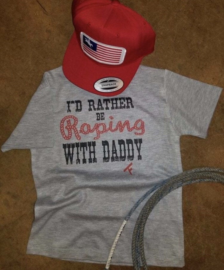 T-shirt - SNAPBACK TD RATHER BE Roding WITH DADDY
