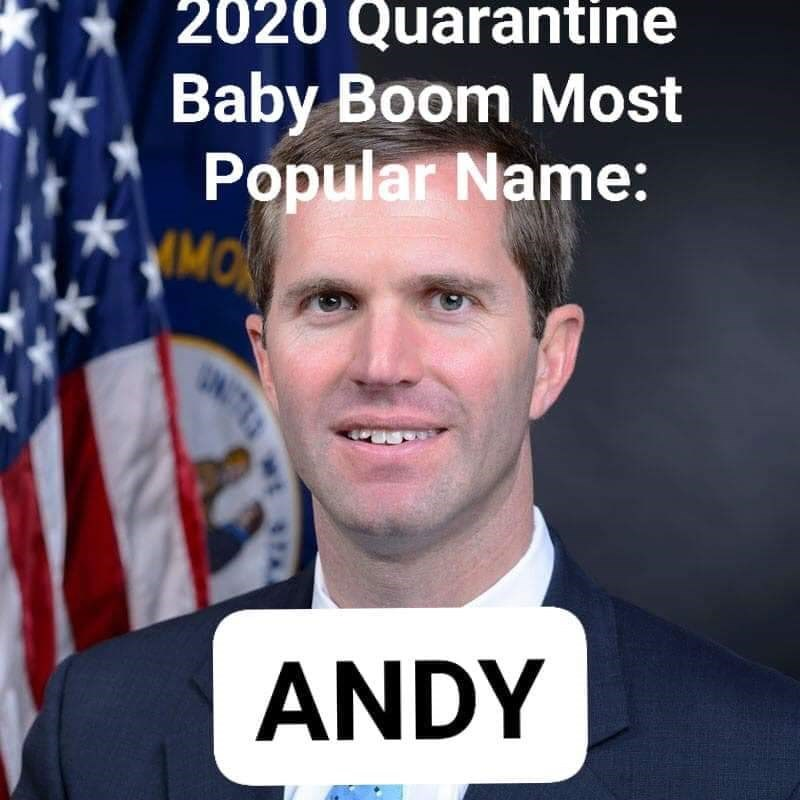 Forehead - 2020 Quarantine Baby Boom Most Popular Name: MOK UNTE ANDY