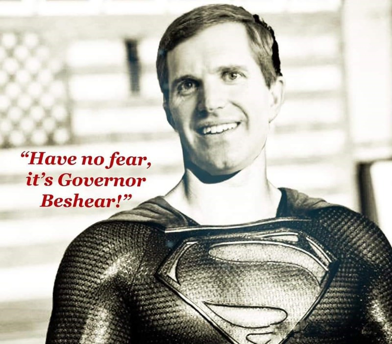 "Superhero - ""Have no fear, it's Governor Beshear!"""
