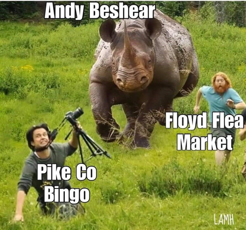 Wildlife - Andy Beshear Floyd Flea Market Pike Co Bingo LAMH