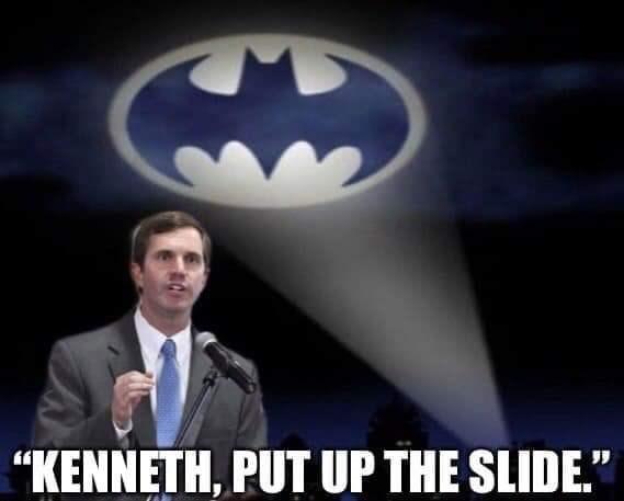 "Batman - ""KENNETH, PUT UP THE SLIDE."""