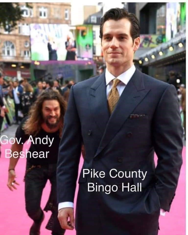 Suit - Gov. Andy Beshear Pike County Bingo Hall