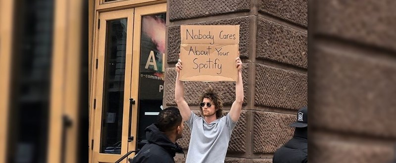 Human - Nobody Cares Abaut Your A1 Spotify 0-commere PI