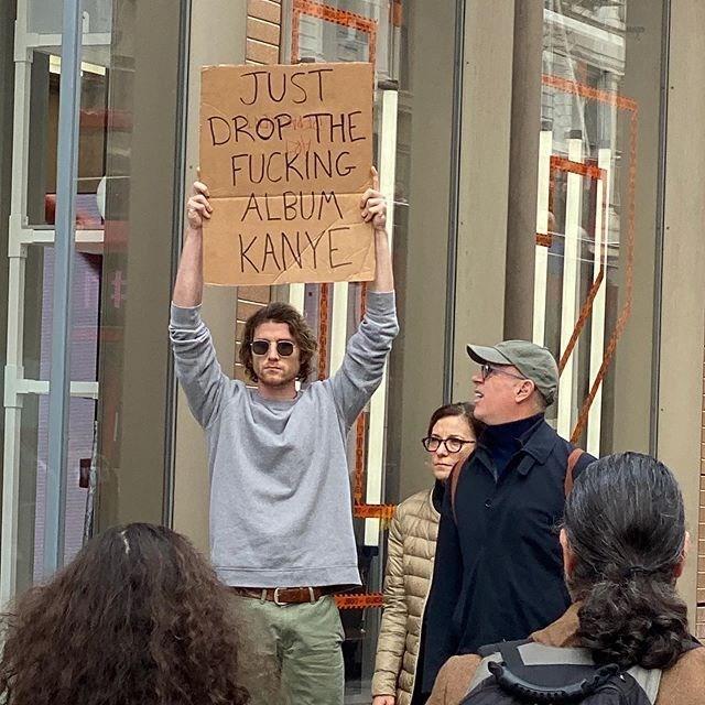 People - JUST DROP THE FUCKING ALBUM KANYE
