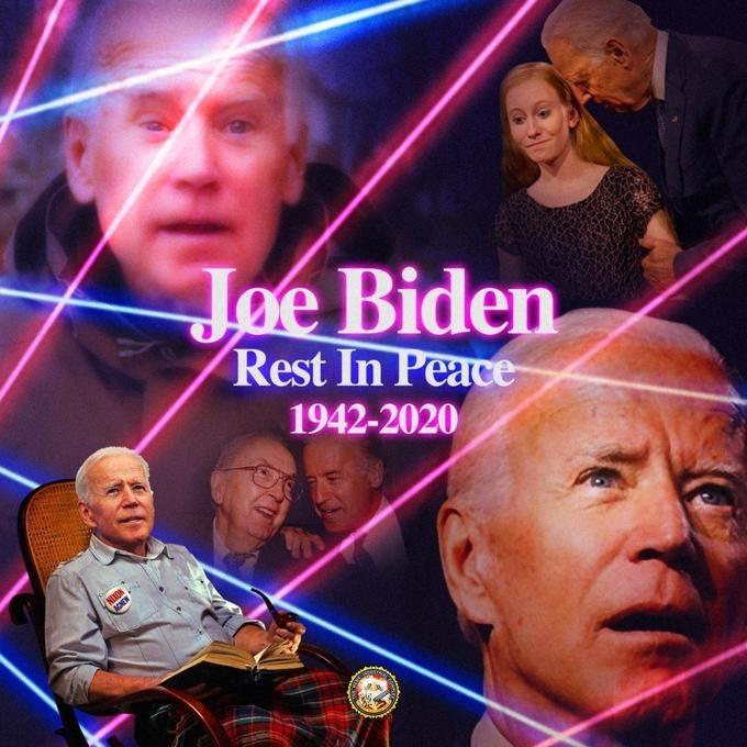 Forehead - Joe Biden Rest In Peace- 1942-2020 NUON