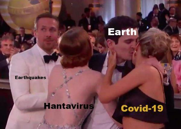 Event - Earth Earthquakes Hantavirus Covid-19