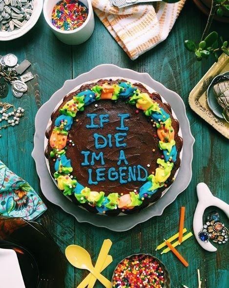 Food - IF I DIE IM A LEGEND