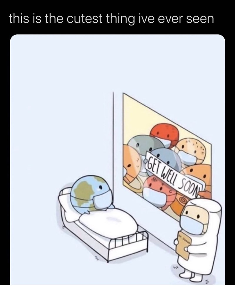 Cartoon - this is the cutest thing ive ever seen GET WELL SOON