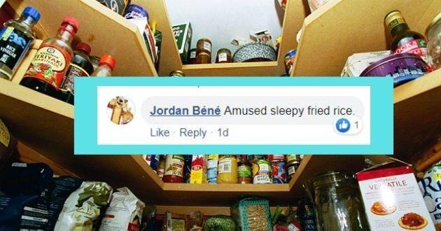 Product - RKE VINIGAR Jordan Béné Amused sleepy fried rice. Like Reply 1d tuKALLY VE ATILE ufn.