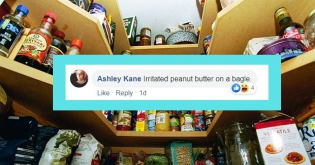 Product - RKE VINIGAR Ashley Kane Irritated peanut butter on a bagle. Like Reply 1d tuKALLY VE ATILE ufn.
