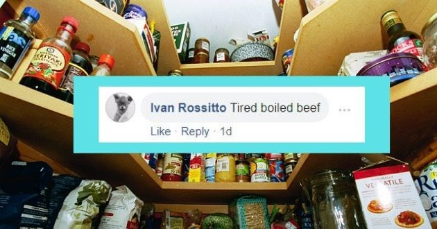 Product - RKE VINIGAR Ivan Rossitto Tired boiled beef Like Reply 1d UKALLY VE ATILE ufn.