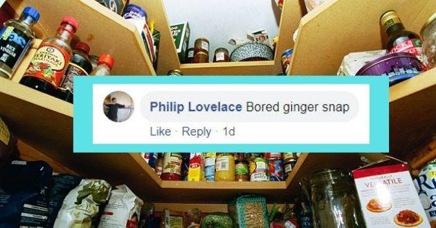 Product - RKE VINIGAR Philip Lovelace Bored ginger snap Like Reply 1d tuKALLY VE ATILE ufn.
