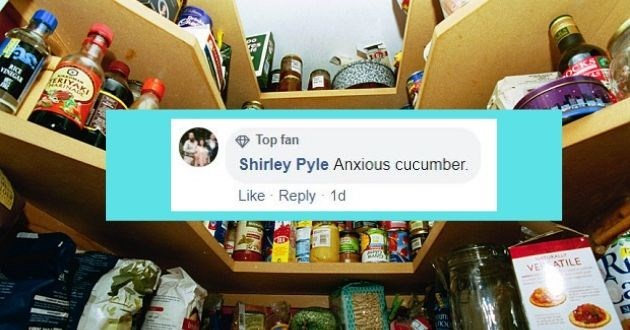 Product - RKE VINIGAR O Top fan Shirley Pyle Anxious cucumber. Like Reply 1d tuKALLY VE ATILE ufn.