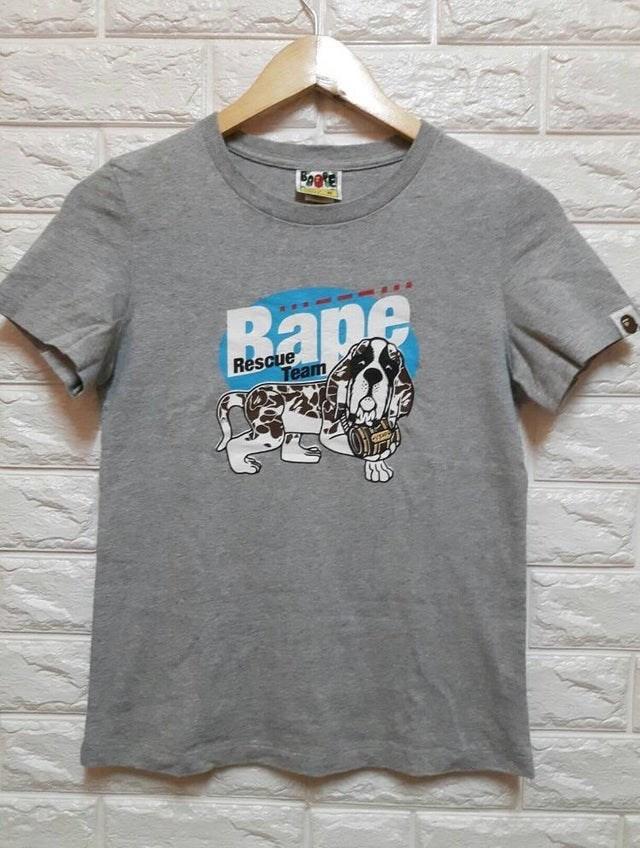 T-shirt - Foete Bape Rescue Team