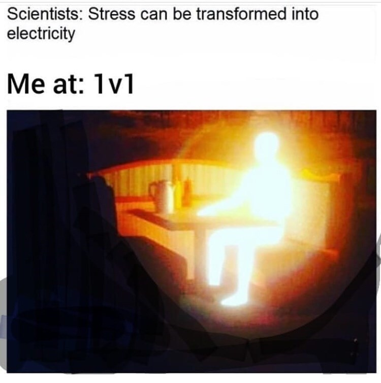 Heat - Scientists: Stress can be transformed into electricity Me at: 1v1