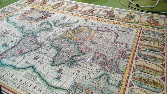 Map - TABUIA TOTES TERARUA ORBIS GZOGRAFHICA A C HYDR OGRAPHICA RFTEVIUNTEO MaR DI INDIA ALLANI CIA Creul Ainto