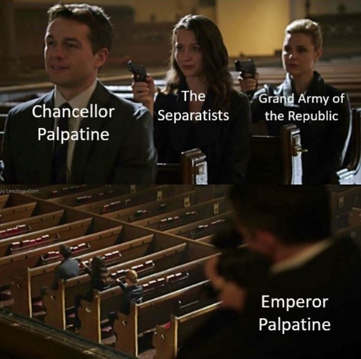 Xylophone - Grand Army of the Republic The Chancellor Separatists Palpatine py Landings-Core Emperor Palpatine