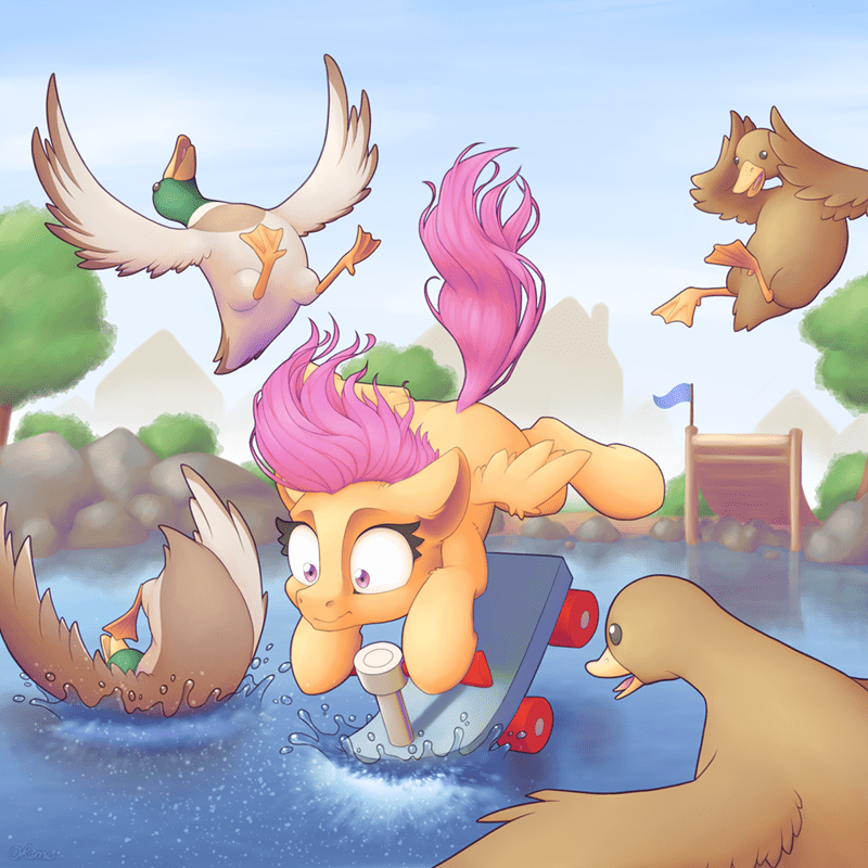 ohemo Scootaloo - 9462974976