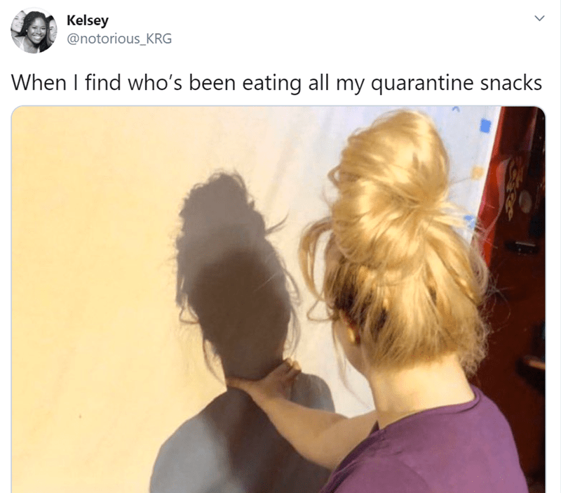 Hair - Kelsey @notorious_KRG When I find who's been eating all my quarantine snacks