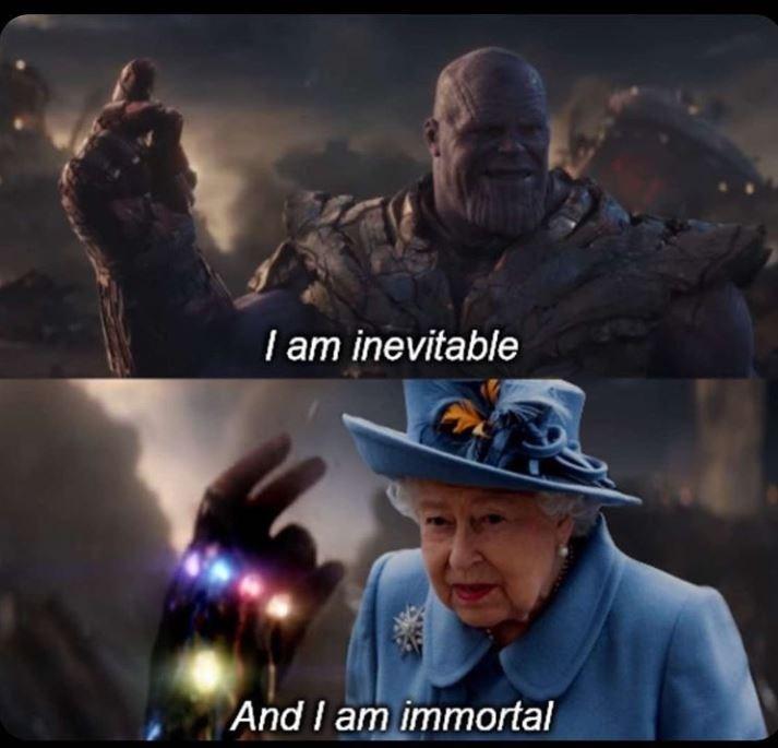 Movie - I am inevitable And I am immortal